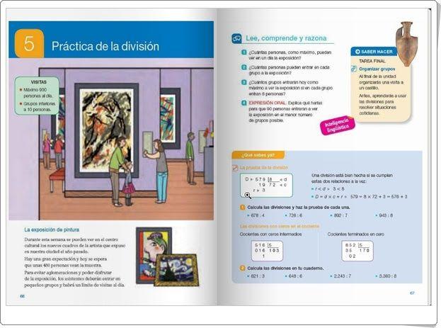 """Unidad 5 de Matemáticas de 4º de Primaria: """"Práctica de la división"""""""