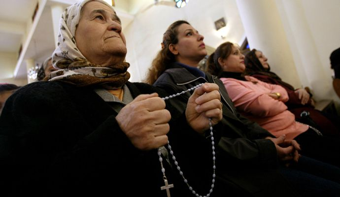 "The world's most ancient Christian communities are being destroyed — and no one cares:  Christians in the Middle East have been the victims of pogroms and persecution. Where's the outrage in the West?  ""...Throughout the Middle East the pattern is the same. Christians are murdered in mob violence or by militant groups. Their churches are bombed, their shops destroyed, and their homes looted. Laws are passed making them second-class citizens..."" #Islam #Muslim"