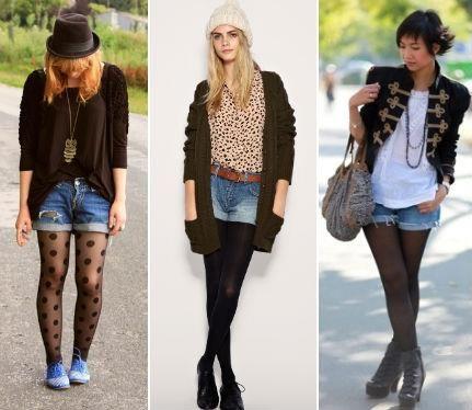 Классические черные шорты деловой стиль