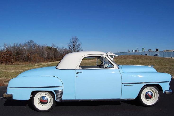 1952 Dodge Wayfarer Business Coupe Classic Car Center Photo 145150 Classic Cars Dodge Coupe