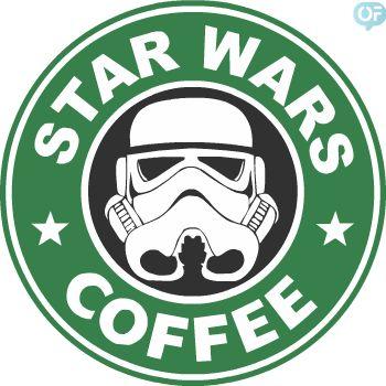 Starwars coffee - like Starbucks galactic coffee