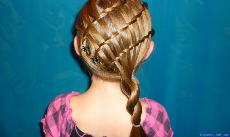 twisty braid 1024x609 The basket weave braid hairstyle: Too cute and too much fun!!