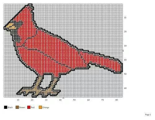 cardinal craft patterns - photo #37