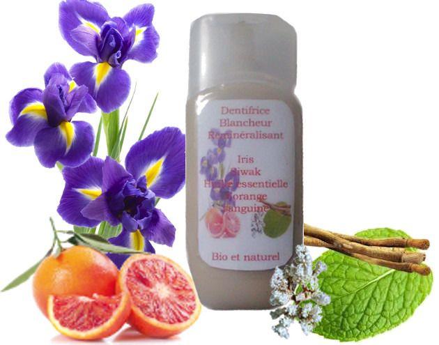 Dentifrice naturel blancheur et reminéralisant à l'huile essentielle : Soin, bien-être par mon-rituel-beaute