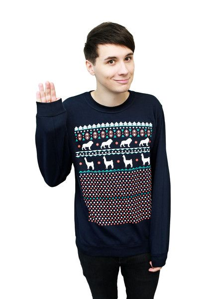 I want a Dan and Phil Christmas sweater