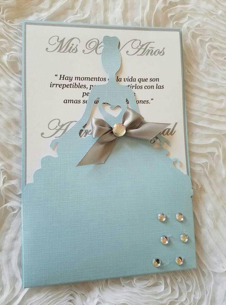 really beautiful little girl invitation in 2020  handmade