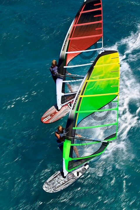 Windsurfing- I love these sails!!