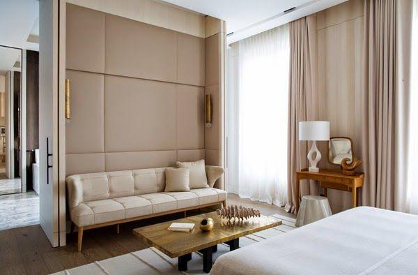 Mimosa Lane: Damien Langlois-Meurinne . Master bedroom divider.