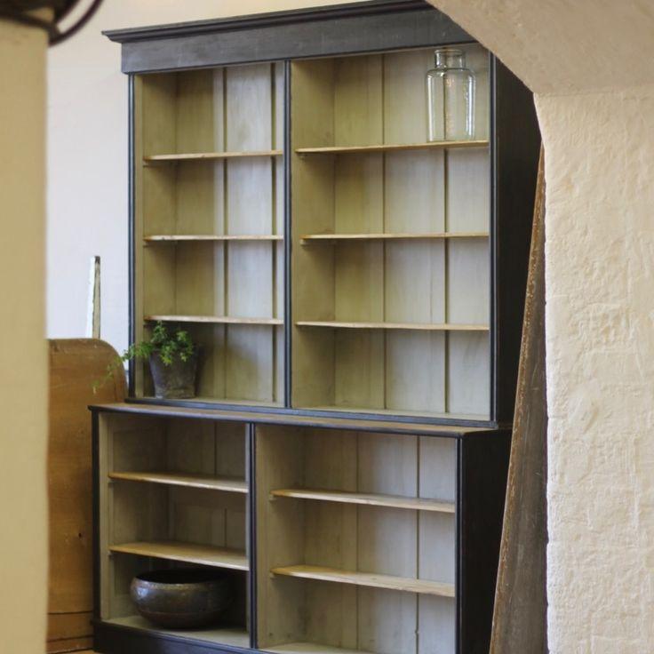 rather grand pine bookcase