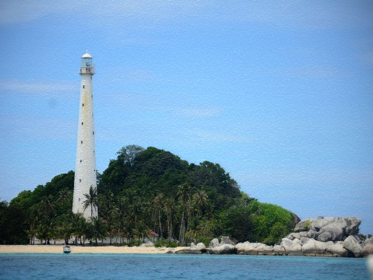 Mercusuar Pulau Lengkuas Obat wisata Penggila Pulau