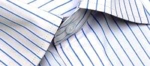 Full sleeve formal shirt with thin sky blue stripes and a front pocket. The fine lines enhance the sleekness and the no-fuss fabric  creates comfort and  durability. Ideal to wear to work , under a suit or by itself.     Style with:  A versatile shirt which will go with most black, grey and blue coloured trousers. Add a bright tie for a younger look.