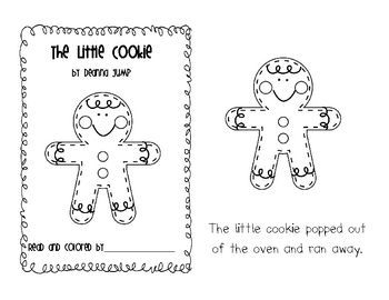 FREE!  Gingerbread emergent reader