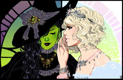 Wicked fanart - by alexisneo      Something Wicked…  by ~alexisneo  I AM IN LOVE WITH THIS MUSICAL.