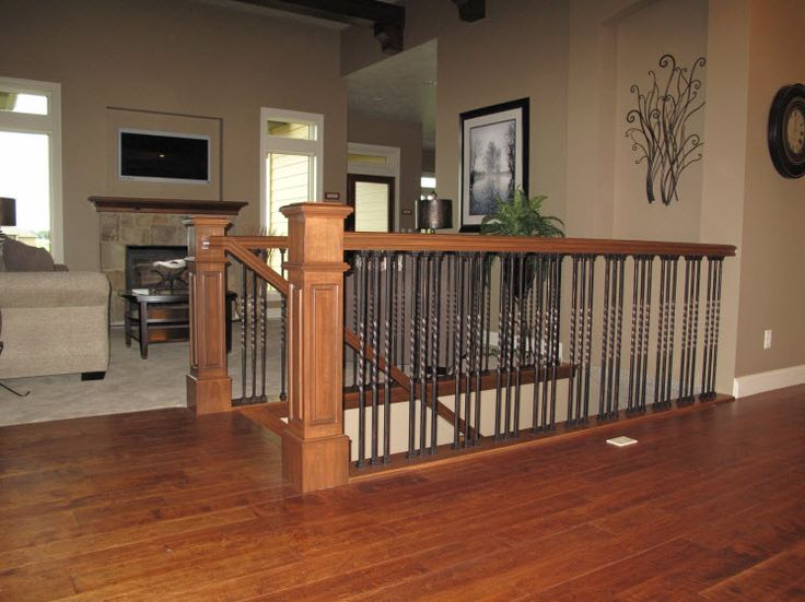 Best Stair Systems Oak Stair Case With Wrought Iron Balusters 400 x 300