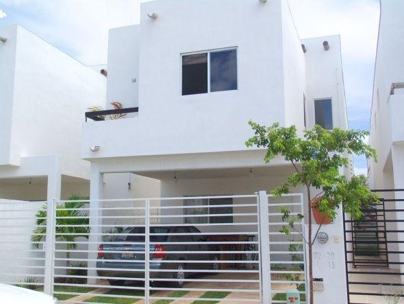 17 mejores ideas sobre rejas para casas en pinterest for Modelos de casas con terrazas modernas