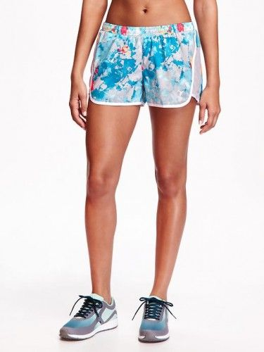 Old Navy Loose Fit Printed Running Shorts For Women Size S Tall – Looking glass