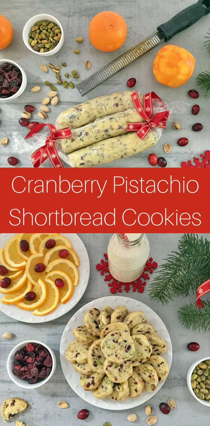 Make a double batch of these Cranberry Pistachio Shortbread cookies as they disappear fast. Seems no one can eat just one!