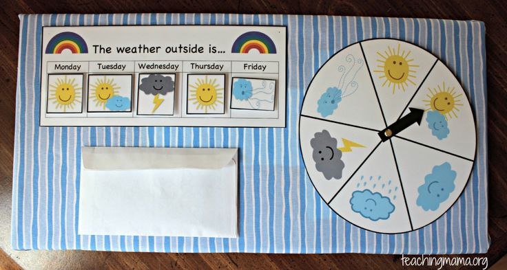 17 Best Ideas About Preschool Weather Chart On Pinterest