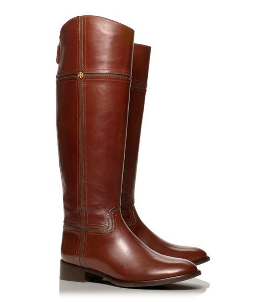 Juliet Riding Boot // Tory Burch. ridiculously sleek, sexy riding boots for fall.