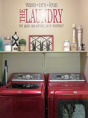 adorable antics laundry room decorations on no budget lots of pics and ideas - Decorations For Rooms