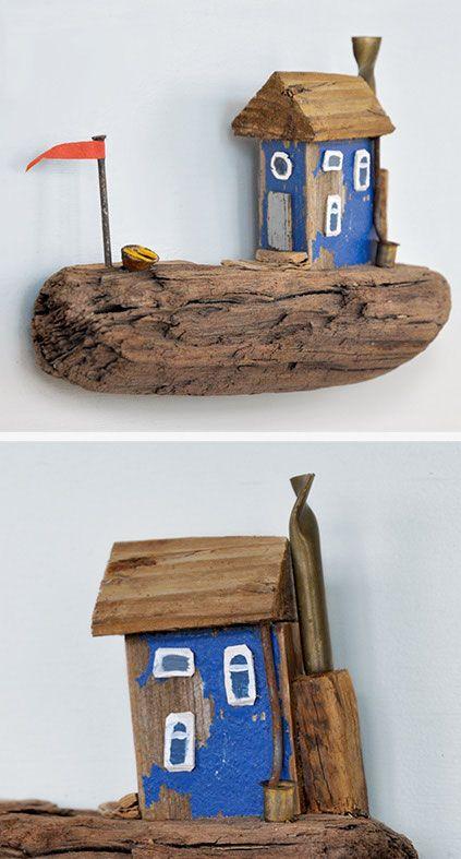 Treibholz Kunst christine grandt - treibholzkunst: maritime miniaturen aus treibholz