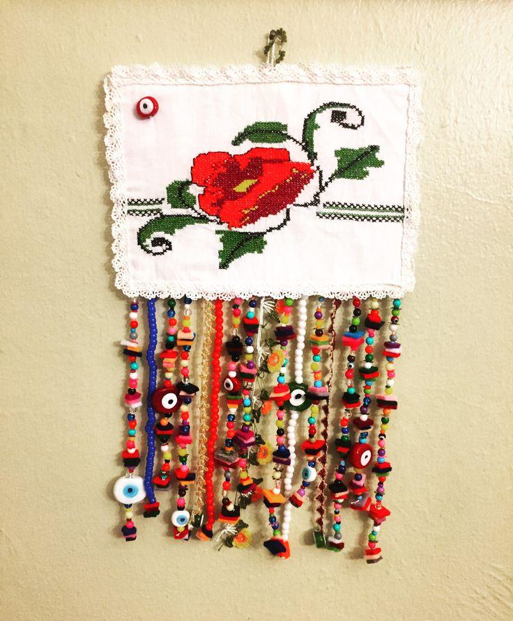 nazarlık, amulet, sipariş, pazen, handmade, design
