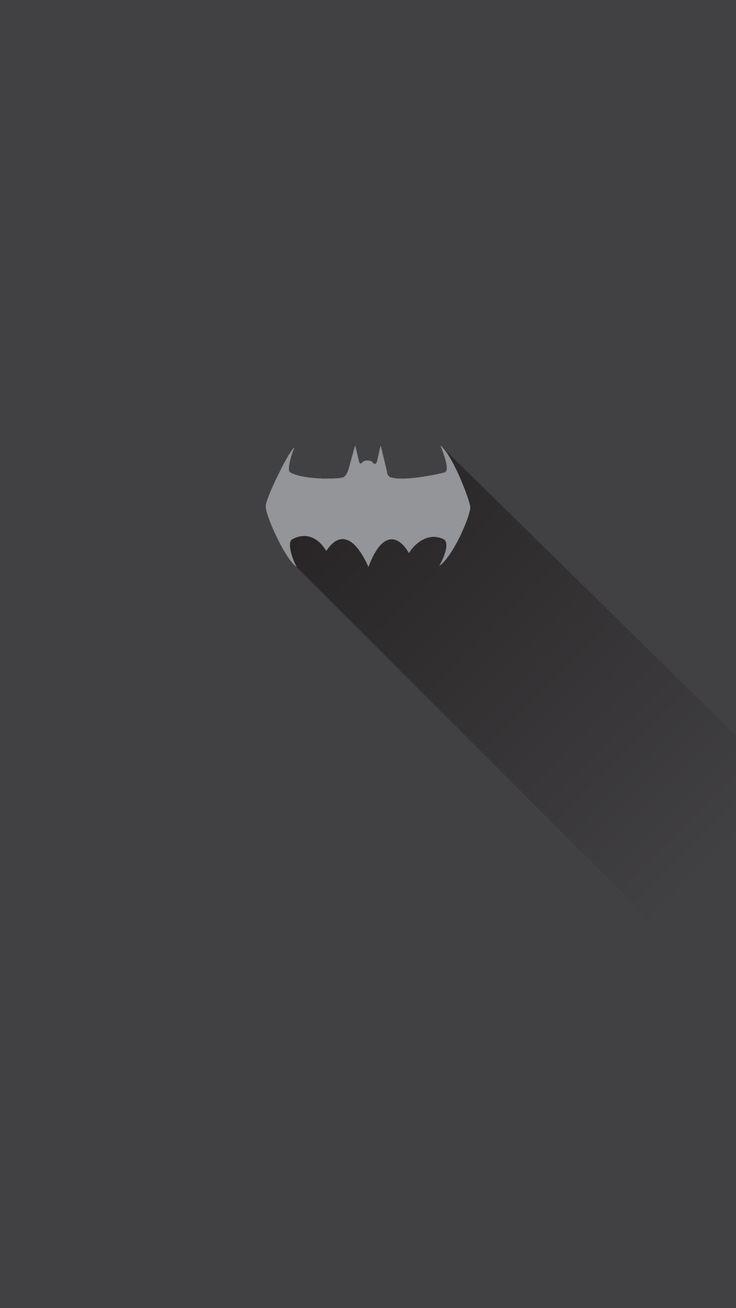 Batman Minimalist Wallpaper Mobile Moto G4 Plus