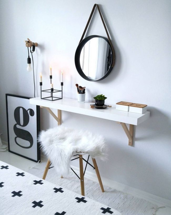 Save This For Gorgeous Makeup Vanity Organization Inspiration Pins To Save In 2019 Pinterest Bedroom Room And Vanity Home Decor Bedroom Vanity Table Apartment Decor Find & download free graphic resources for dressing table. bedroom vanity table