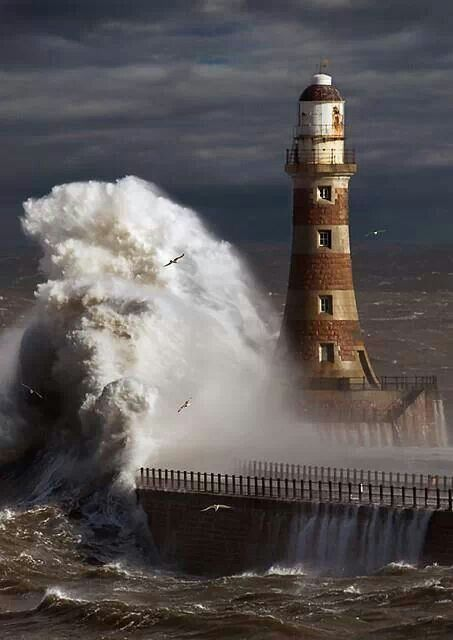 Roker Lighthouse, Sunderland, NE England