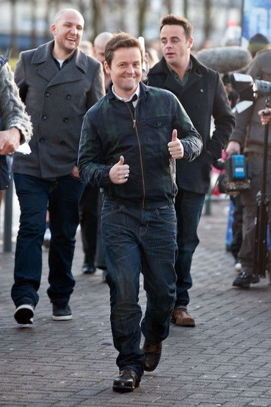 ant and dec   Ant and Dec Declan Donnelly and Ant McPartlin arriving at Glasgows ...