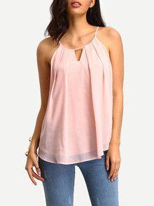 cami top, pink top, sexy top, summer top - Lyfie