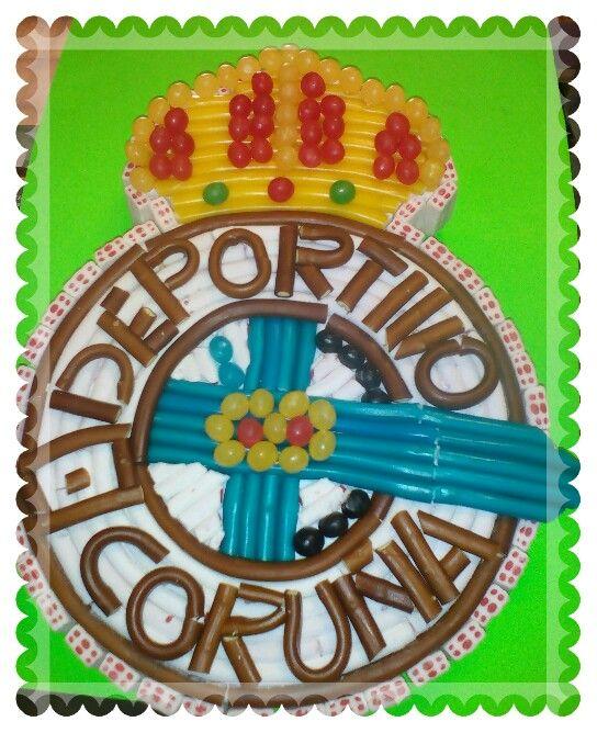 Escudo Deportivo de La Coruña Libreria Aguion La Espina