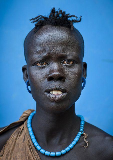 Bodi Tribe Woman, Ethiopia, Eric Lafforgue
