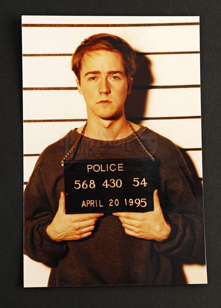 Aaron Stampler (Edward Norton) Mugshot Photograph PRIMAL FEAR