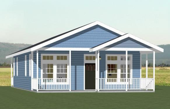28x40 House 28x40h2 2 Bedroom 2 Bath Home With Microwave Over Range Stacked Washer Dryer Sq Craftsman House Plans Floor Plans Home Design Floor Plans