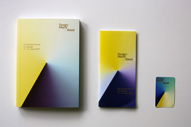 Design Miami Basel 2012 identity by Madethought