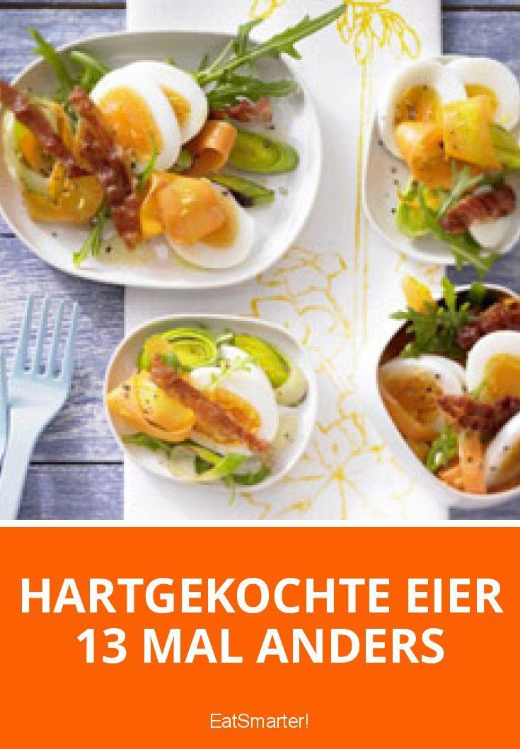 Hartgekochte Eier 13 Mal anders | eatsmarter.de