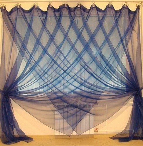 Необычный способ повесить обычные шторы