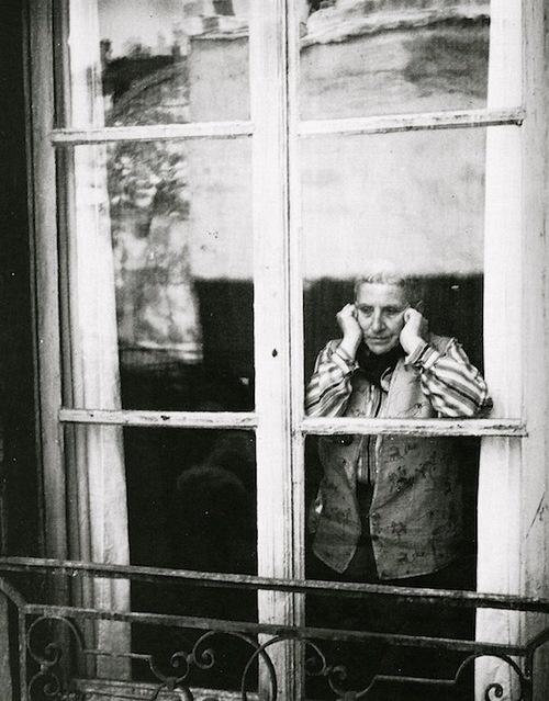 Gertrude Stein, April 1946 (Cecil Beaton)