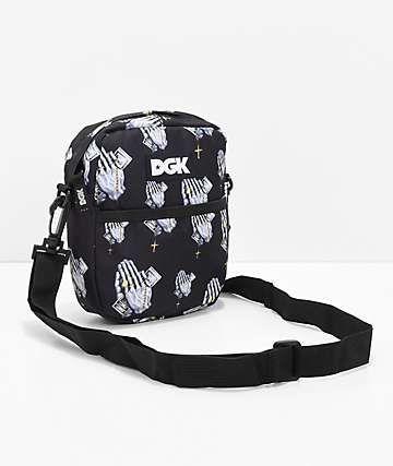 ea7b75eba DGK Blessed Black Shoulder Bag | Buy in 2019 | Black shoulder bag ...