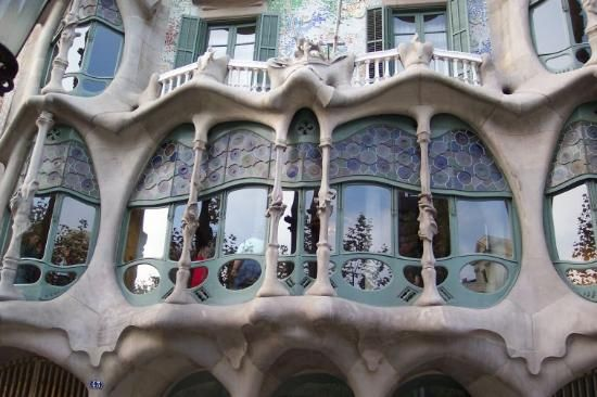 #8, Barcelona. Never been to Spain, can you believe it?! And yes, I would go for Gaudi without hesitation! Love those crazy buildings!