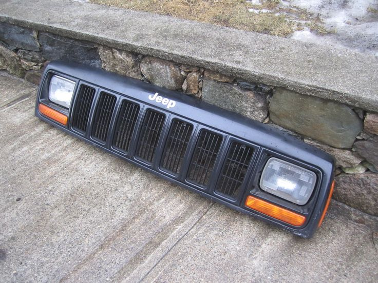 Price:$349.95 Free shipping to anywhere in the lower 48. ~ Front Grille Assembly, #Jeep #Cherokee 97-01 (Black) ~ #Jeepparts #Mopar #DIY #Repair