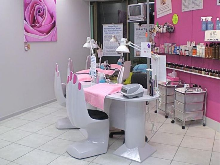 my daughter bailey would love to have her own private nail salon