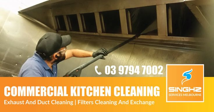 Our restaurant kitchen canopy cleaning services can provide a full deep cleaning of your commercial kitchen. We work individually or as a team depending on the size of your venue. Singhz are best commercial canopy cleaners in Melbourne. #CanopyCleaning #ExhaustCleaning #RestaurantCleaning