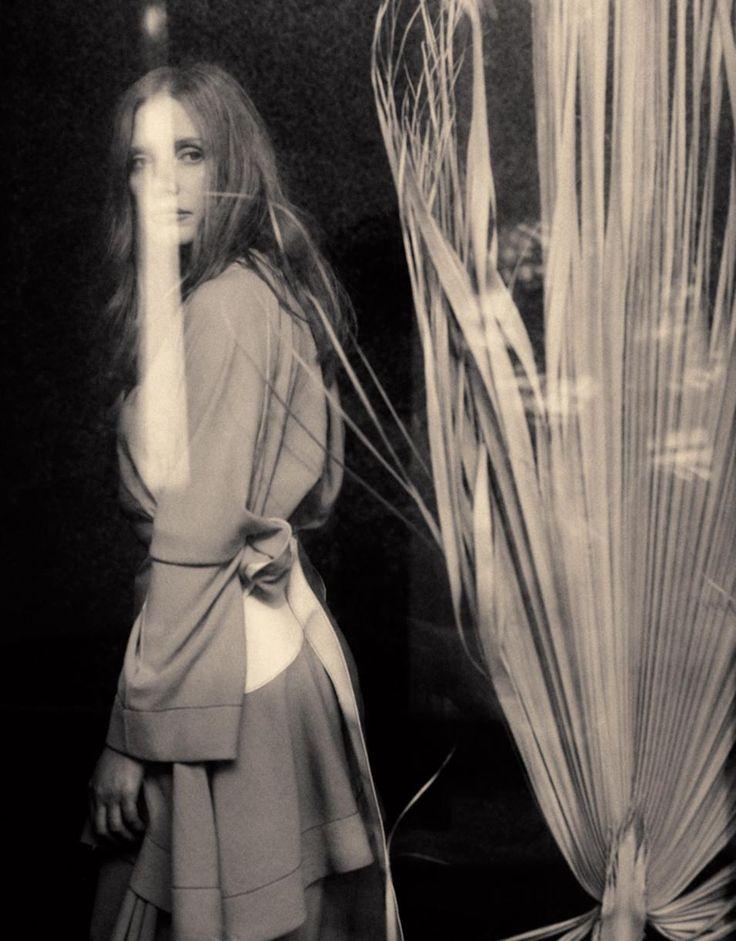 Loewe top, $2,450, and skirt, $2,590, Dover Street Market, 160 Lexington Avenue, New York.