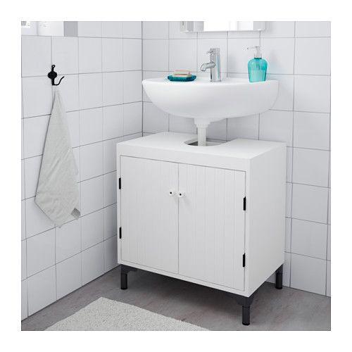 SILVERÅN Tvättställsunderskåp med 2 dörrar - IKEA