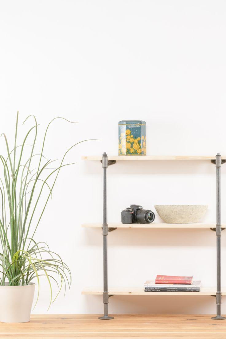 DIY projekt Regal aus Temperguss | Möbel aus rohren, Möbel