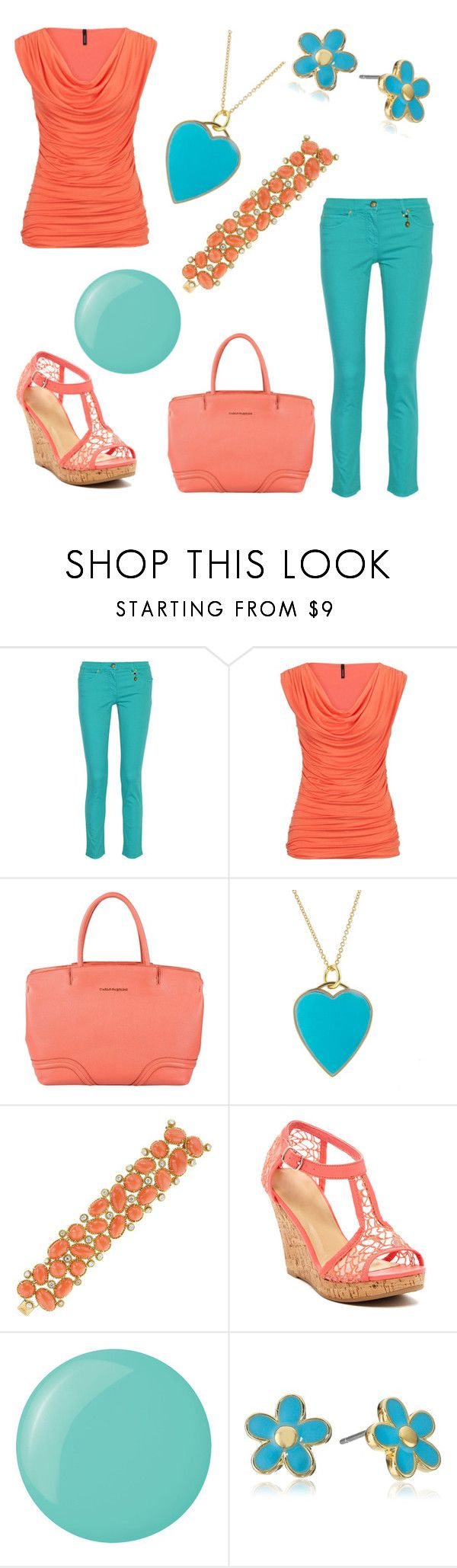 """Movie Date Outfit 44 - Ella"" by office-girl ❤ liked on Polyvore featuring Versace, maurices, Carlo Pazolini, Jennifer Meyer Jewelry, Van Cleef & Arpels, Kiss & Tell, Essie and Marc by Marc Jacobs"
