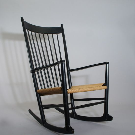 Hans wegner rocking chair j-16. gungstol FDB Möbler Wigerdals Värld