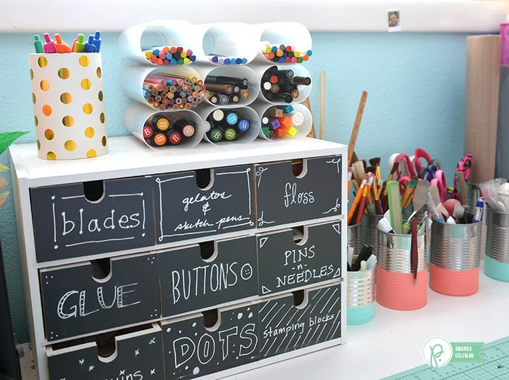 17 best images about craft rooms on pinterest crafting Room organization